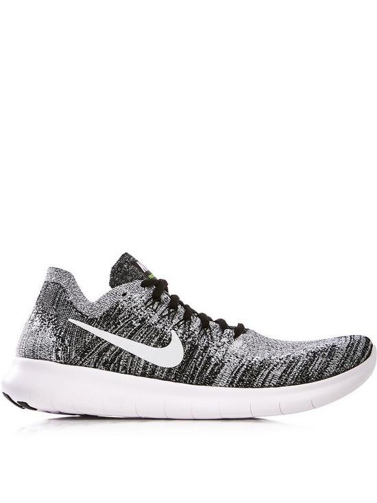 hot sales 32dd9 f8064 Nike Free Run Flyknit Trainers - Grey