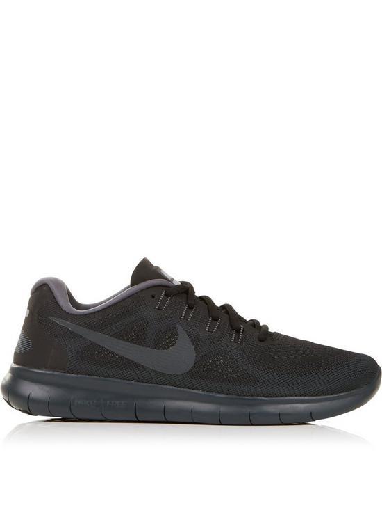purchase cheap 5bf21 b8fe9 Free Run 2017 Running Trainers - Black