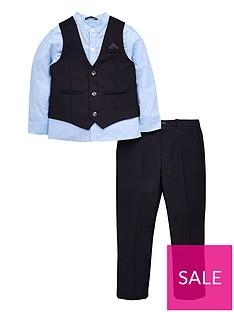 mini-v-by-very-boys-shirt-navy-waistcoat-and-trouser-set