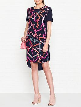 ps-paul-smith-ribbon-print-t-shirt-dress-navy