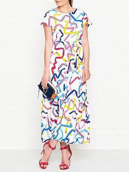 ps-paul-smith-ribbon-print-maxi-dress-white