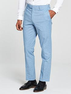 river-island-skinny-linen-trousers