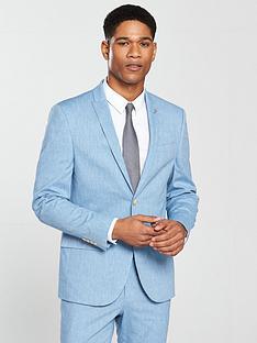 river-island-skinny-linen-jacket