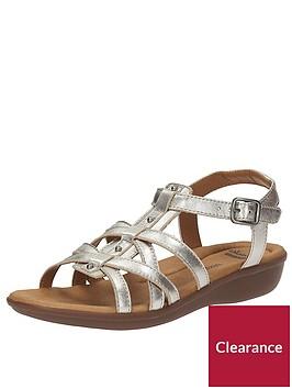 clarks-manilla-bonita-gladiator-flat-sandal-silver