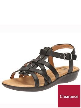 clarks-manilla-bonita-gladiator-flat-sandal-black