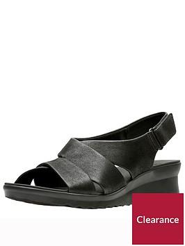 clarks-caddell-petal-wedge-sandal-black