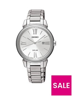 seiko-stainless-steel-bracelet-silver-dial-ladies-watch