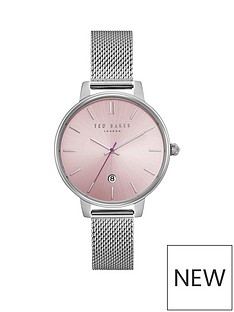ted-baker-pink-dial-silver-plated-mesh-bracelet-ladies-watch