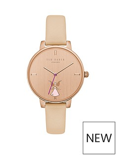 ted-baker-fairy-rose-gold-case-nude-leather-strap-ladies-watch