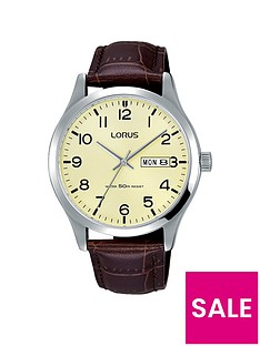 lorus-lorus-mens-stainless-steel-case-watch-with-brown-leather-strap