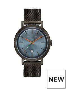 ted-baker-blue-dial-black-mesh-braceletnbspmensnbspwatch