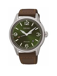 seiko-stainless-steel-case-brown-leather-strap-mensnbspwatch