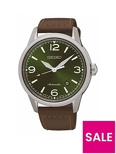 seiko-stainless-steel-case-brown-leather-strap-mensnbspwatch
