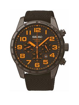 seiko-seiko-mens-black-ip-case-black-canvas-strap-watch
