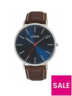 lorus-lorus-mens-stainless-steel-case-watch-with-brown-leather-strap-and-blue-dial