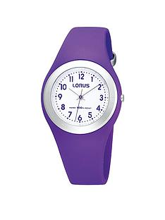 lorus-purple-silicone-strap-kids-watch