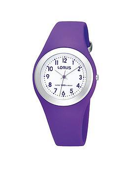 lorus-purple-silicone-strap-kids-watch