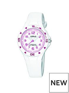 lorus-lorus-kids-white-polyurethane-strap-watch