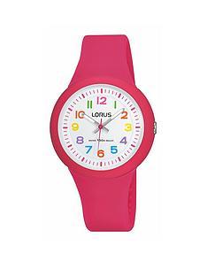 lorus-pink-silicone-strap-girls-watch