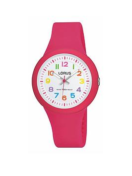 lorus-pink-silicone-strap-girls-watch