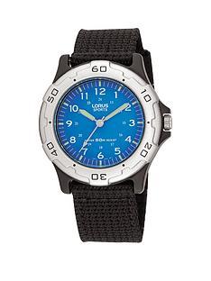 lorus-kids-black-nylon-strap-watch