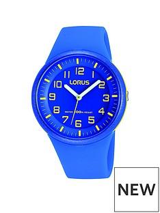 lorus-unisex-blue-silicone-strap-watch