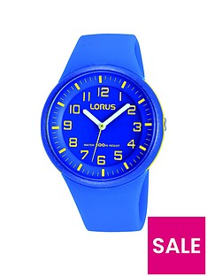 lorus-unisex-blue-silicone-strap-watch