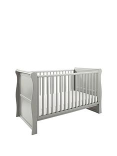 little-acorns-sleigh-cot-bed-ndash-light-grey