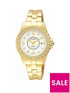 pulsar-gold-plated-bracelet-embellished-case-ladies-watch