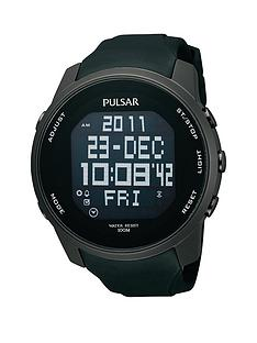 pulsar-mens-digital-world-time-watch-with-a-black-ion-plated-stainless-steel-case-and-polyurethane-strap-featuring-a-black-dial