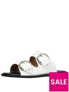 call-it-spring-gworiennbsptwo-band-slide-white