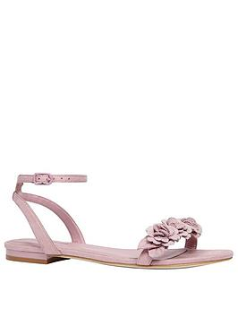 Call It Spring Gwiradia Floral Sandal - Pink