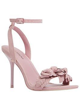 Call It Spring Cadadode Floral Heeled Sandal - Pink