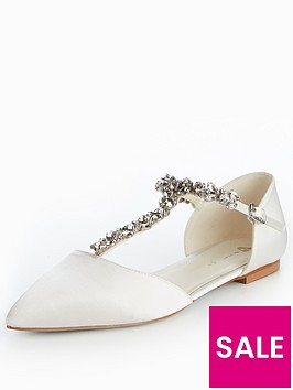 v-by-very-luise-bridal-jewelled-flat-point-satin-shoes