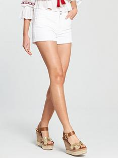 v-by-very-raw-edge-denim-short-white