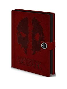 deadpool-deadpool-039splat039-premium-a5-notebook