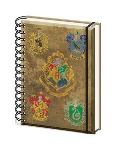 harry-potter-hogwarts-crest-a5-wiro-notebook