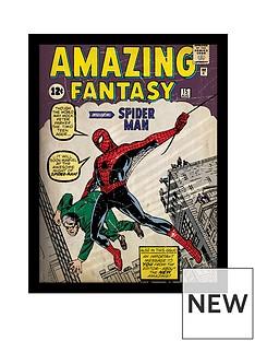 spiderman-spiderman-039issue-1039-framed-30x40cm-framed-print