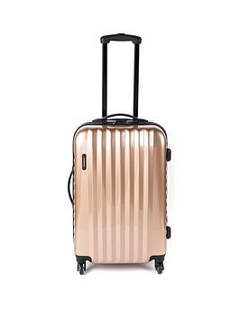 Constellation Athena Rose Gold 4-Wheel Medium Suitcase