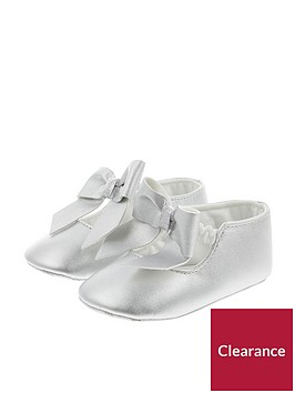 monsoon-baby-girls-oversized-bow-bootienbsp--silvernbsp