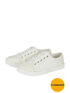 monsoon-flower-girl-lace-up-trainer
