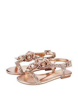 monsoon-metallic-rose-glitter-sandal