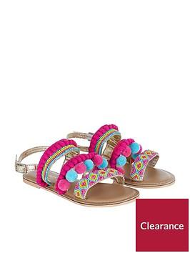 monsoon-multi-pom-pom-beaded-sandal