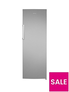 Hisense FV306N4BC1 60cm Wide Frost-Free Freezer - Stainless Steel Effect