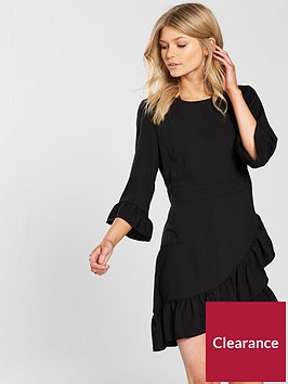 miss-selfridge-petite-frill-dress