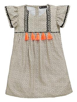 mini-v-by-very-girls-woven-tassel-trim-dress