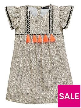mini-v-by-very-girls-woven-tassel-trim-dress