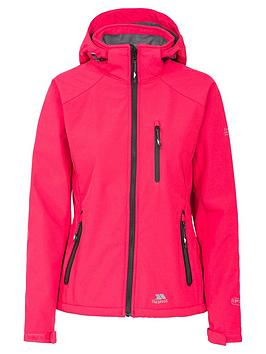 trespass-bella-ii-softshell-jacket-raspberry