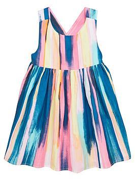 mini-v-by-very-girls-cross-back-stripe-dress