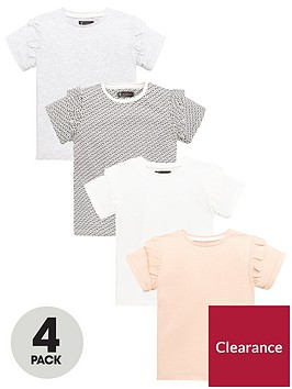 mini-v-by-very-girls-4-pack-ruffle-sleeve-t-shirtsnbsp--multi